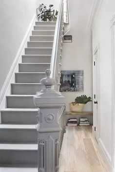 vendors) I do not Accept Painted Stair Railings, Painted Staircases, Painted Stairs, Banisters, Painted Tiles, Spiral Staircases, Hand Painted, White Staircase, Staircase Design