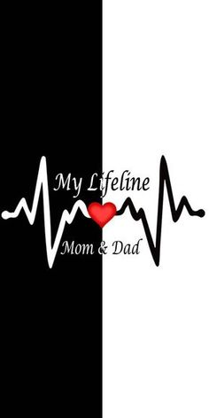 My Lifeline Mom & Dad Hd Mobile Wallpapers Love My Parents Quotes, Mom And Dad Quotes, Daughter Love Quotes, I Love My Parents, Love U Mom, Mom Dad Tattoo Designs, Mom Dad Tattoos, Happy Wallpaper, Words Wallpaper