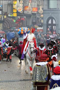 Intocht Sinterklaas, Amsterdam.