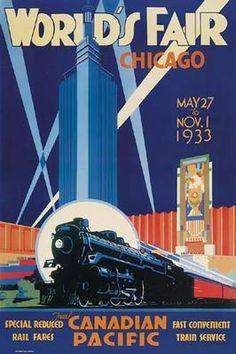 Vintage Railroad Posters Gallery 2