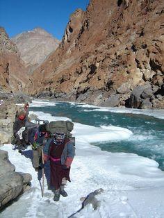 Chadar (Frozen-River) Trek, Zanskar, Leh Ladakh, India, Himalayas www.lynxexpeditions.com