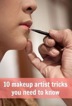 makeup artist tricks you need to know