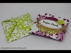 Windrad Verpackung mit Stampin Up