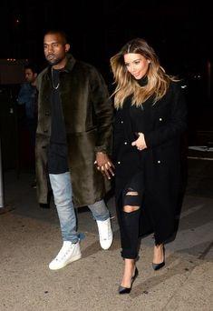 25 Times Kim Kardashian And Kanye West Were 2013's Most Fashionable Couple (via BuzzFeed)