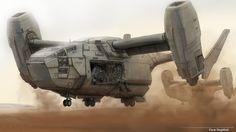 VTOL Version by stiegh on DeviantArt Spaceship Art, Spaceship Design, Robot Concept Art, Weapon Concept Art, Military Helicopter, Military Aircraft, Concept Ships, Concept Cars, Starship Concept