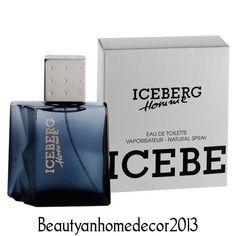 Iceberg Homme by Iceberg 3.4 oz / 100 ml EDT Cologne Spray for Men New in Box #Iceberg
