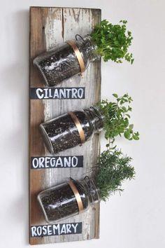 (------THOSE MILK BOTTLES FROM THE CREAMERY---) Herb garden ideas