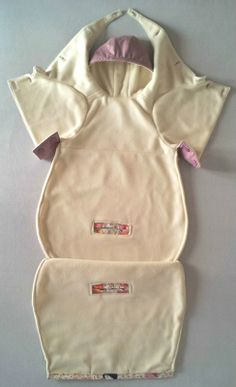 Patron de couture [Cocoon] - Système d'ouverture/fermeture intégral de la combinaison sans gêner bébé - Patron pochette ou PDF sur www.clea-et-roman.fr