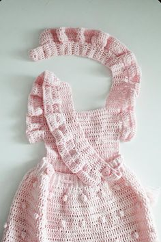 Crochet baby dress pink – Knitted sundress – crochet outfits for baby girl – cotton knitting clothes – photography accessories – props - Babykleidung Pink Outfits, Baby Outfits, Crochet Baby Clothes, Crochet Outfits, Vestidos Bebe Crochet, Pull Bebe, Crochet For Kids, Baby Dress, Dress Girl