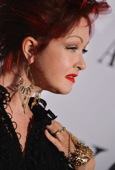 Singer Cyndi Lauper attends The 2013 Tony Awards on June 9, 2013 in New York City.