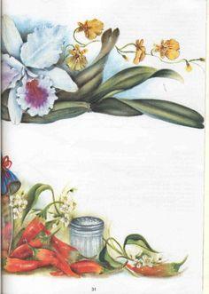 Pintura em Tecido Passo a Passo: Como pintar pimentas