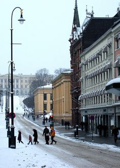 Oslo, a very civilised city, but so expensive.