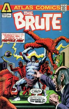 THE BRUTE issue no. 2. Atlas Comics.