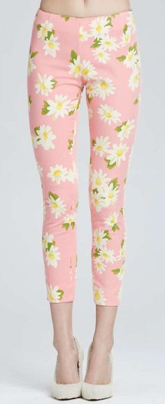 Don't know if I would wear these, but I love them, Floral Pant ==