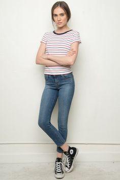 Brandy ♥ Melville   Mason Top - Tees - Tops - Clothing