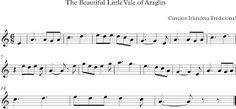 The Beautiful Little Vale of Araglin. Canción Irlandesa.