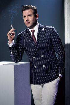 Jason Sudeikis poses for Playboy