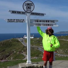 Forrest Gump runner completes John O'Groats to Land's End challenge - Ewan Gordon ran the 1050-mile course over six weeks in memory of 9-year-old Thomas Laurie, who passed away after suffering from Cockayne Syndrome - Runner's World