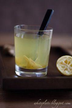 Hot Lemon Ginger Honey