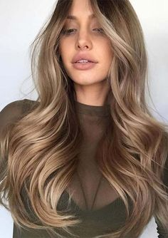 Balayage hair, new hair, caramel brown hair color, caramel hair, brown Caramel Brown Hair Color, Dark Blonde Hair Color, Cool Hair Color, Brown Hair Colors, Brunette Color, Brunette Hair, Ash Blonde, Blonde Curls, Caramel Color