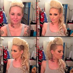 16 Shocking Photos of Adult Film Stars Without Makeup • SHAVED SIDES •