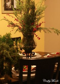Decorate Your Holiday Dining Table for Free!
