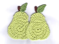 Pear coasters or book markers - via Etsy.