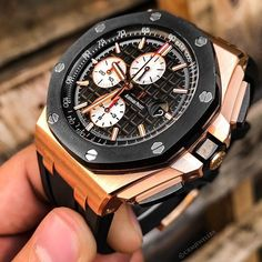 audemars piguet news Audemars Piguet Gold, Audemars Piguet Diver, Audemars Piguet Watches, Mens Fashion Blog, Estilo Fashion, Rolex Watches For Men, Luxury Watches For Men, Nice Watches, Wrist Watches
