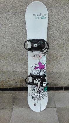 Dámský snowboard set Westige ZARZA 143 cm - 1 bazos