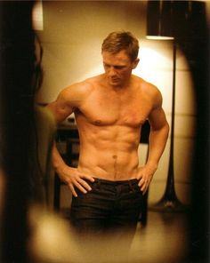 Daniel Craig... He's my old man crush. I'm allowed to have one