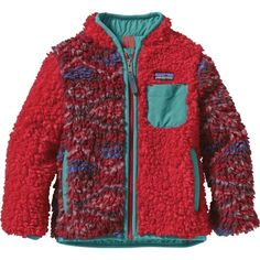 Patagonia Retro-X Fleece Jacket - Infant  haha i love the patern its a total kid thing