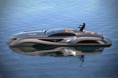 Xhibitionist Superyacht by Gray Designs