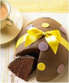¡Tremendo #pastel para preparar la llegada de las #monas de Pascua!
