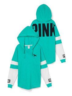 Varsity Hoodie - PINK - Victoria's Secret