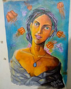 child artist amazing painting realistic abstract acrylic painting 12 years old artist