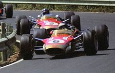 Clark Clark e Graham Hill, Lotus 49, 1968