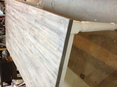 Weathered gray rustic table