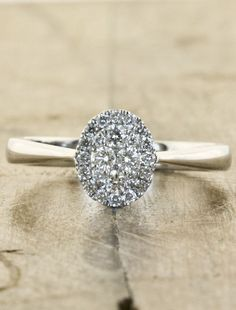 This is what I imagined Bella's ring to look like, not the monstrosity they used in the movie