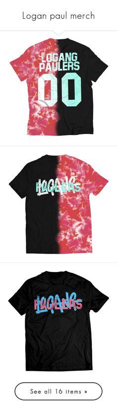 """Logan paul merch"" by maddiemoxly ❤ liked on Polyvore featuring tops, logo tank, logo tank tops, logo top, hoodies, hoodie top, sweatshirt hoodies, hooded sweatshirt and hooded pullover"