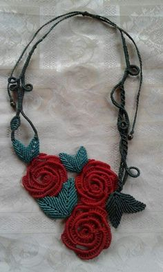 Revamping old jewelry with etching Macrame Colar, Macrame Art, Macrame Necklace, Macrame Knots, Macrame Jewelry, Macrame Bracelets, Diy Jewelry, Crochet Necklace, Crochet Owls