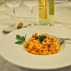 Cooking with Manuela: Risotto with Calamari