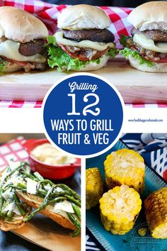 12 Ways to Get Creative With Fruit and Veggies on The Grill recipe Creative grilling ideas for fruit and veggies. Make the most of seasonal summer product with these 12 grilled veggie and fruit recipes. Grilled Fruit, Grilled Peaches, Grilled Vegetables, Grilled Vegetable Recipes, Fruit Recipes, Healthy Dinner Recipes, Savoury Recipes, Healthy Dishes, Summer Salads With Fruit