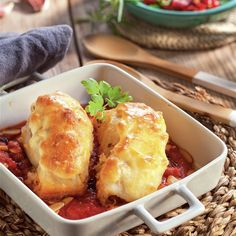 Bacalao con muselina Cauliflower, Macaroni And Cheese, Shrimp, French Toast, Fish, Vegetables, Breakfast, Ethnic Recipes, Octopus