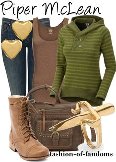 """""""Piper McLean"""" by waveyourwands97 ❤ liked on Polyvore"""