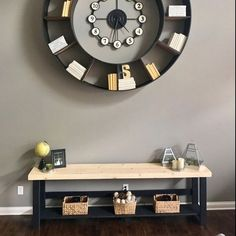 Rustic Console Tables, Rustic Sofa, Sofa Tables, Long Sofa, Wood Display, Entry Hall, Custom Woodworking, How To Distress Wood, Types Of Wood