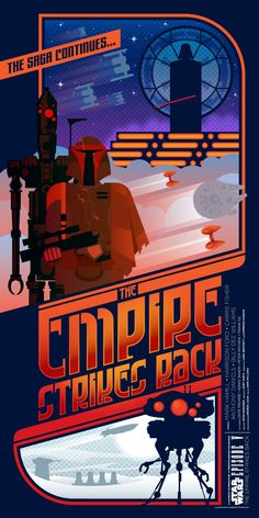 'Star Wars: Episode V – The Empire Strikes Back' poster by Sublevel Studios