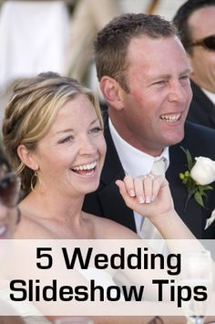 Tips for putting together your #wedding #slideshow. Whether you are displaying a slideshow of your lives growing up and meeting at your reception or a slideshow of your actual wedding day.