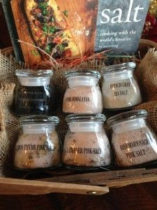 Make your own healthier, flavored salts.