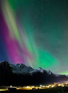 Northern Lights.I want to go see this place one day.Please check out my website thanks. www.photopix.co.nz