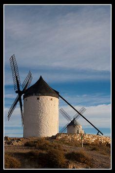 Molinos de Viento, Consuegra, Castille la Mancha, España